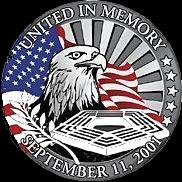 Photo of Seal commemorating events of 911 and those who are on the front lines in the War Against Terror.  M203.com is dedicated to the military and civilians on the front lines in the War Against Terror, who are honored through pictures taken by soldiers showing the war �Through the Soldier's Eye�.